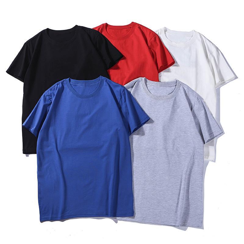 Mens de la manera de los hombres T-shirt de algodón mujeres del estilista Camisa Casual Carta Imprimir manga corta camiseta