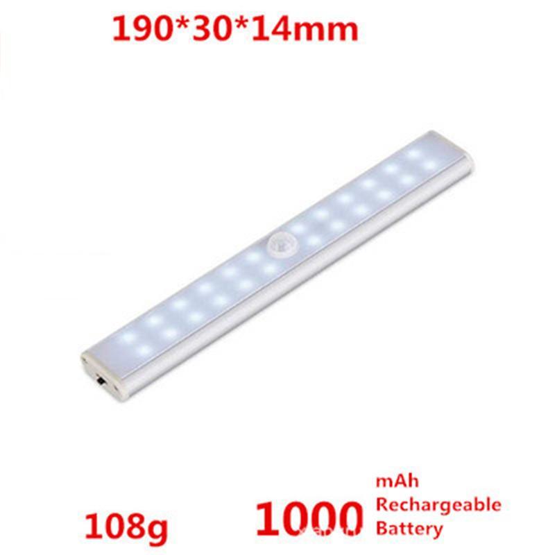 2pcs / lot LED Kızılötesi Hareket Dedektörü Sensörü Dolap Dolap Dolap Acil Işık Lambası Kablosuz Kuru pil CE, RoHS Belgeli ışıkları