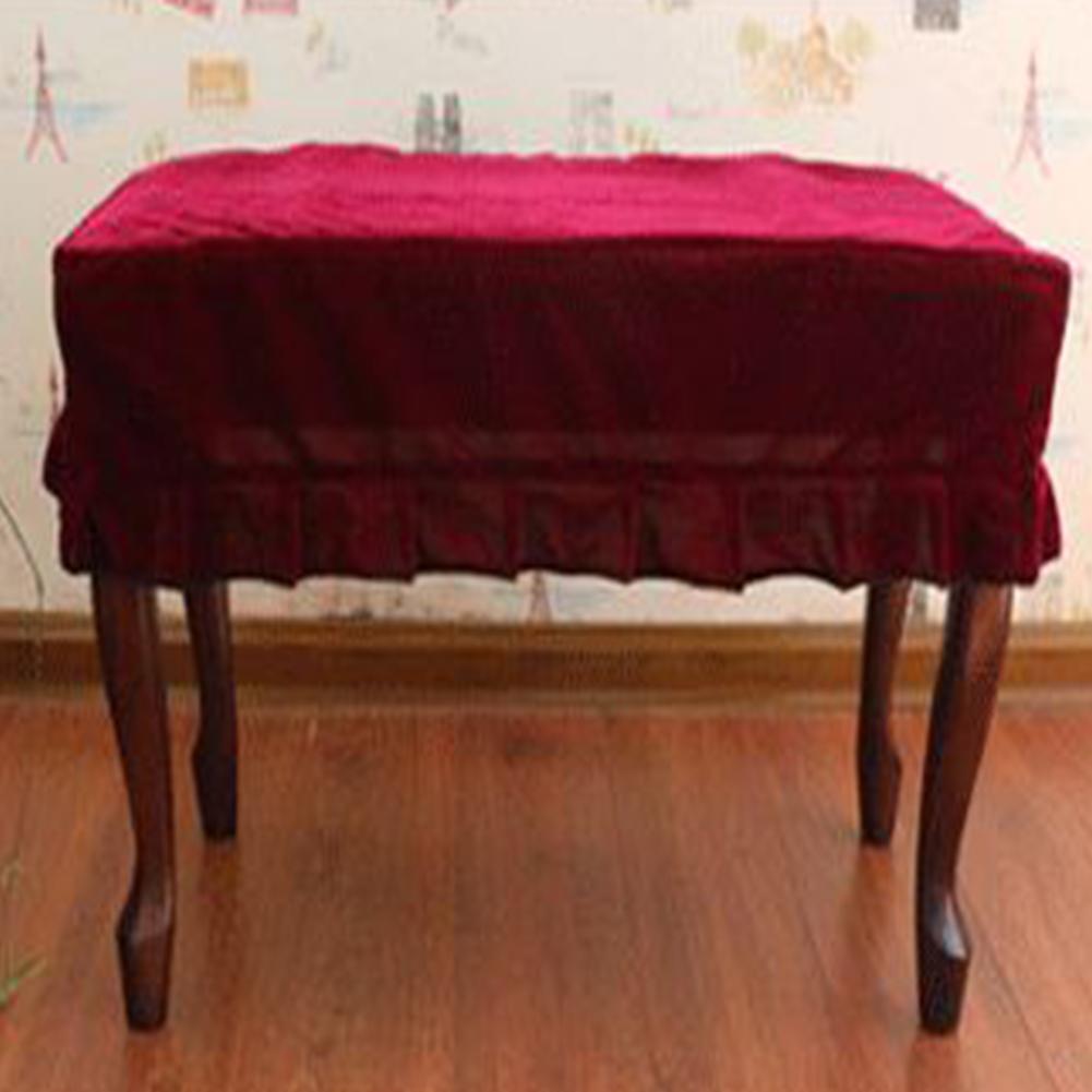 Pleuche фортепиано стул против пылезащитный чехол фортепиано аксессуары пианино стул защитная оболочка