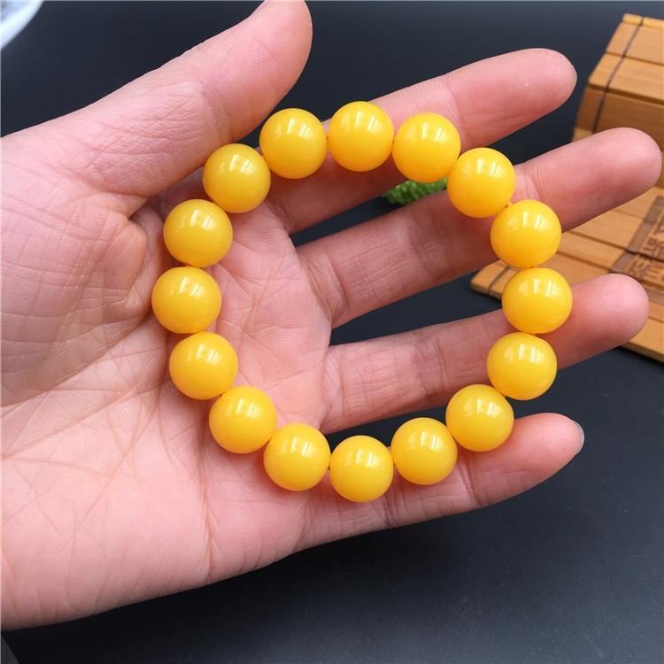 Criativa noite dom indicador do mercado de resina imitação de cera de abelha pequena e redonda talão pulseira bracelete pulseira NP6wk