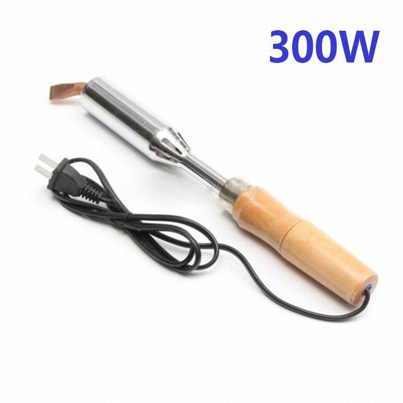 100/150 / 200 / 300W Heavy Duty Saldatore + Rame Scalpello per la riparazione elettronica 5kRL #