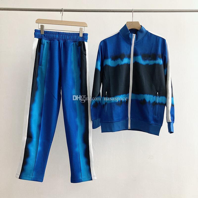 Chegada Nova Homens Mulheres alta qualidade Treino capuz ternos da trilha dos homens do suor dos homens Casacos com capuz camisola Sportswear