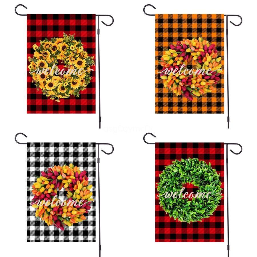 Пасхальный заяц Уши Флага Открытого Украшение сад Флаг Кролик Форма Висячего Флаг с Bowknot Пасха баннер # 168