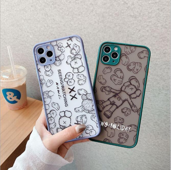 L Brief Phone Cases für iPhone 11 Pro Max Xs Xr 7 8 Plus Designer-Telefon-Kästen Mode Leder Luxuxtelefonkasten