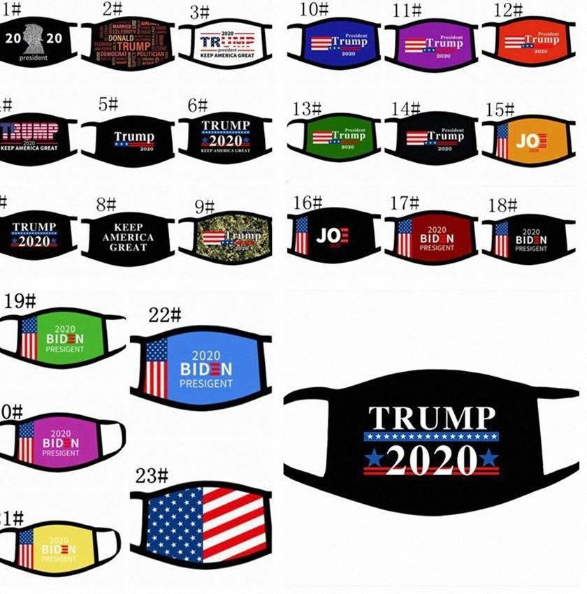 Materiali Maschere Trump elezioni americane nascondono nella manica 2020 Joe Biden elezioni americane bandiera americana bocca maschera maschere per il viso LJJK2409 NaMk #