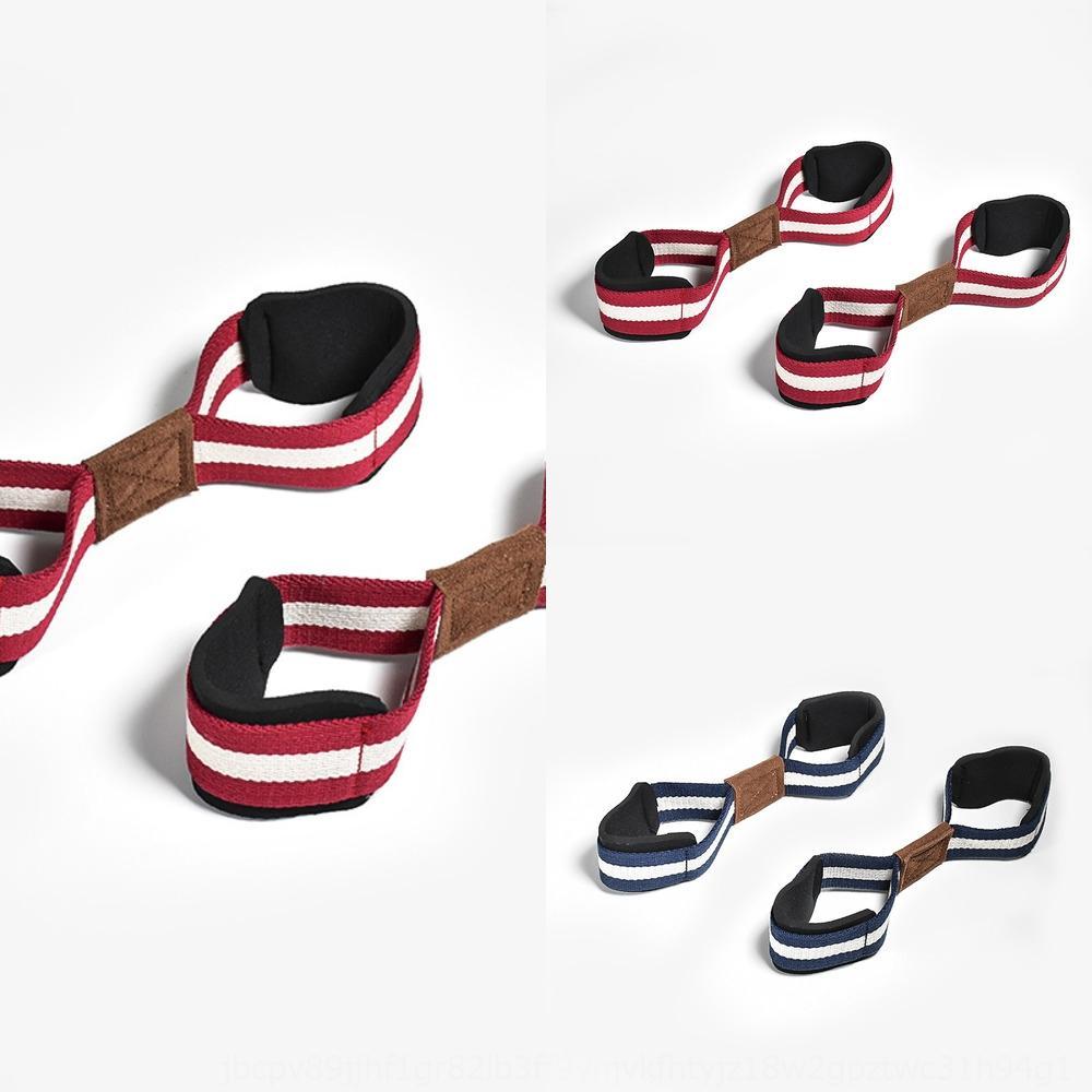 Eden horizontal harter Handgelenkschutz 8-stelliges Sporthilfe Eden Gürtel Reck Band bar große Schleife Griff Hilfs Fitness-Pull-up