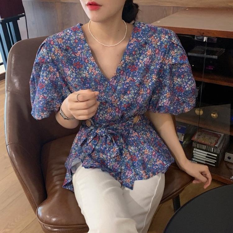 pgNNj lCVPH Saray usulü v yaka çiçek bubble askısı oyuk-out tasarım Coat kol içi boş çiçek 16986 Saray usulü v yaka bel kabarcık kol