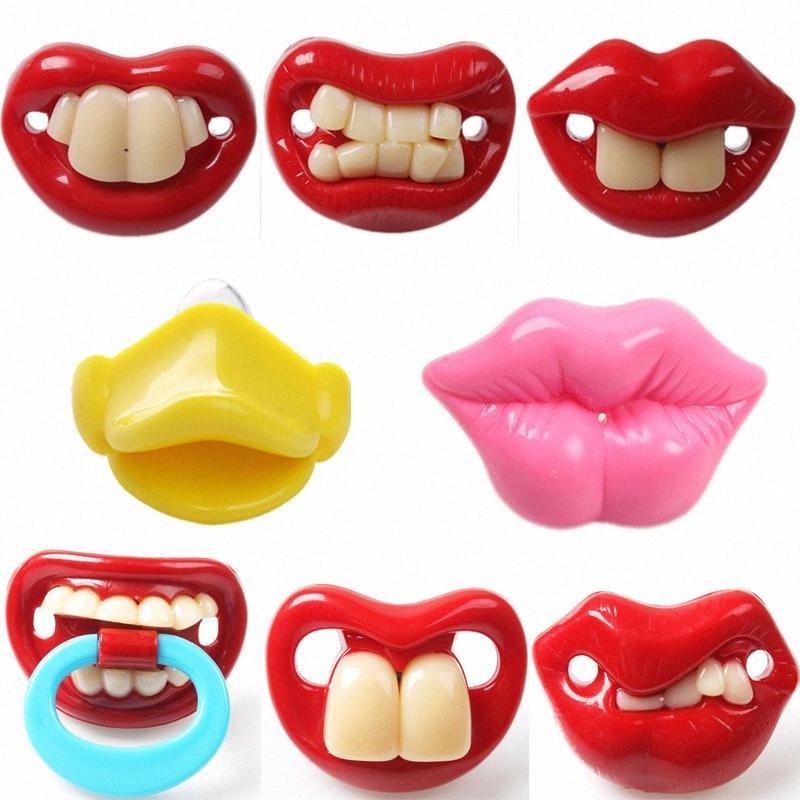 Yeni Geliş En Silikon Komik Emzik Emzik Bebek Emzik Joke Prank Bebek Pacy Ortodonti Memeler diş kaşıyıcınız Bebek emziği Bakımı lgeL #