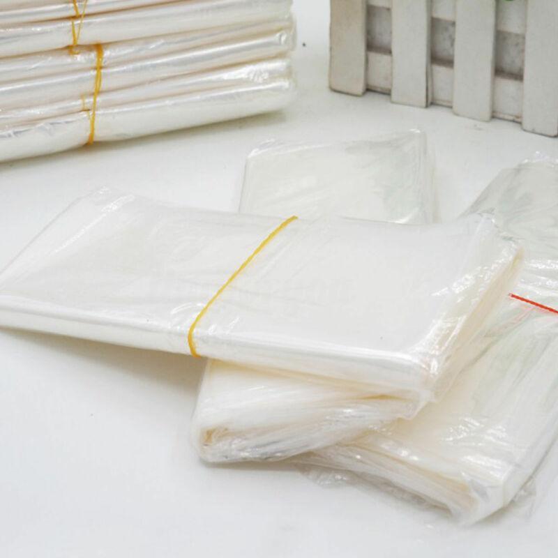 50/100 / 200pcs Multi-tamanho POF Transparente Encolher Seal envolver a película de Calor Saco do presente embalagem para a embalagem Sabonetes Caixa de frascos de cosméticos