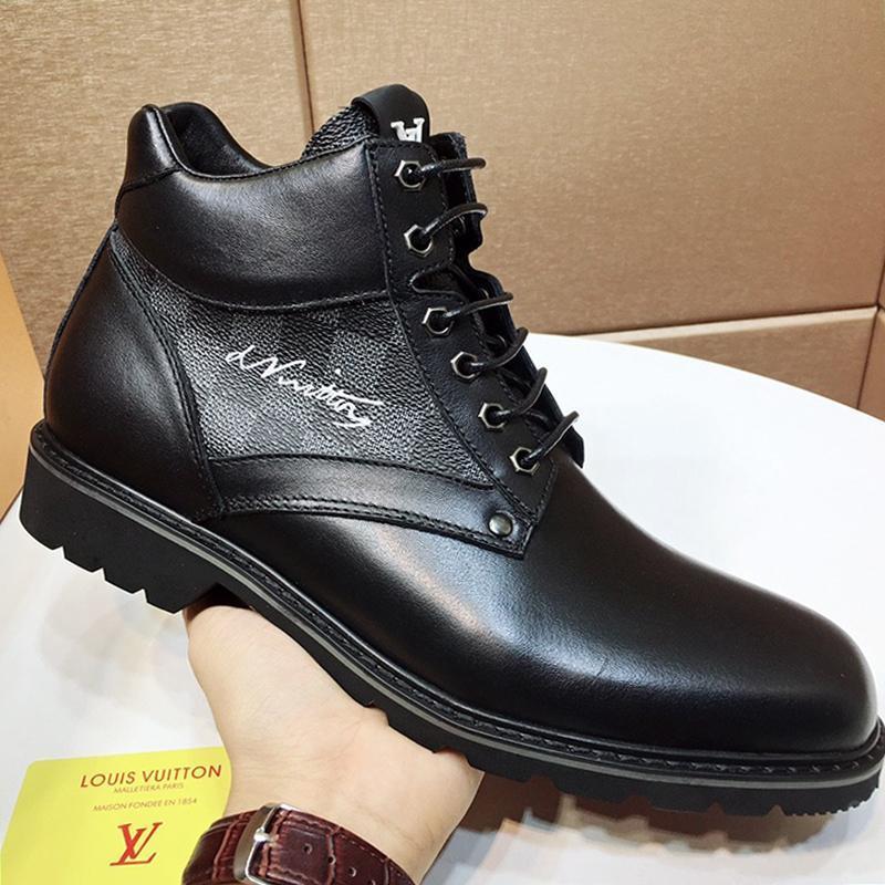 Zapatos de los hombres de moda de lujo casual zapatillas transpirable diseño con la caja Oberkampf la bota del tobillo Zapatos de recreo al aire libre Footwears hombre de la moda