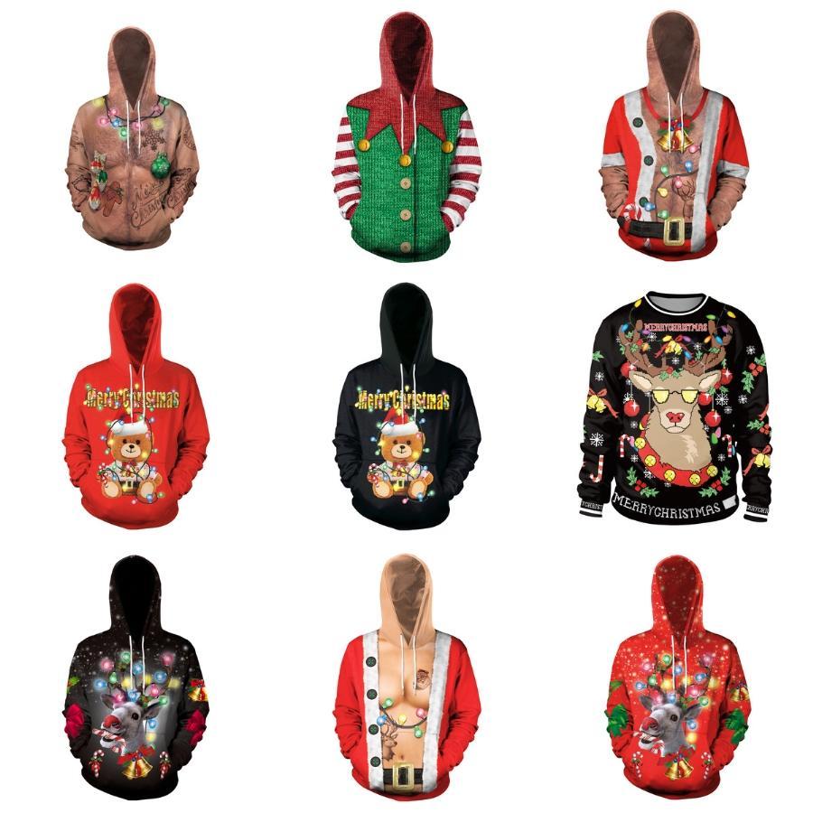 Femmes Designer Pull de Noël Hommes Femmes Lettre Pull Sweatshirts Pull de Noël Haute Qualité Pull à manches longues Nº 128