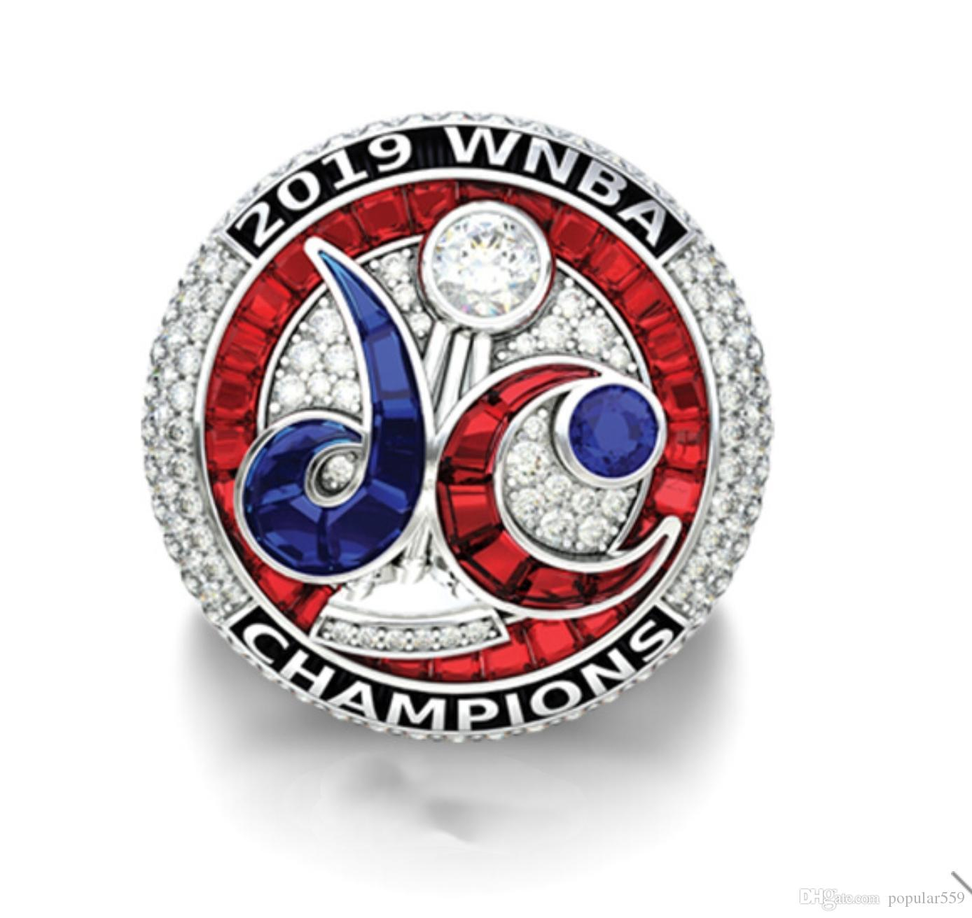 2020 wholesale Washington Mystics 2019-2020 Championship Ring TideHoliday gifts for friends