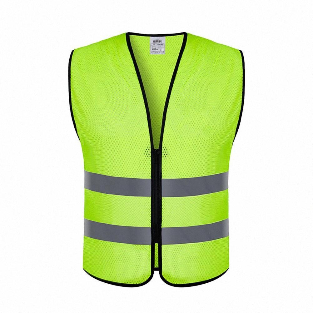 Yansıtıcı Açık Aşınma Atletik Açık Kıyafet Yelek Portatif Rahat Ultra Wal Q1pa için # Işık Reflektif Yelek Emniyet Dişli Yelek