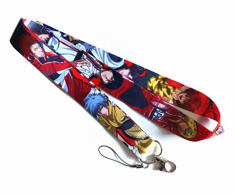 anime giapponese RisingBeat Cordini Raffreddare Holder Neck Strap per cellulari chiavi scheda ID cordino Per chiavi di DIY Cordini corda appesa 20pcs