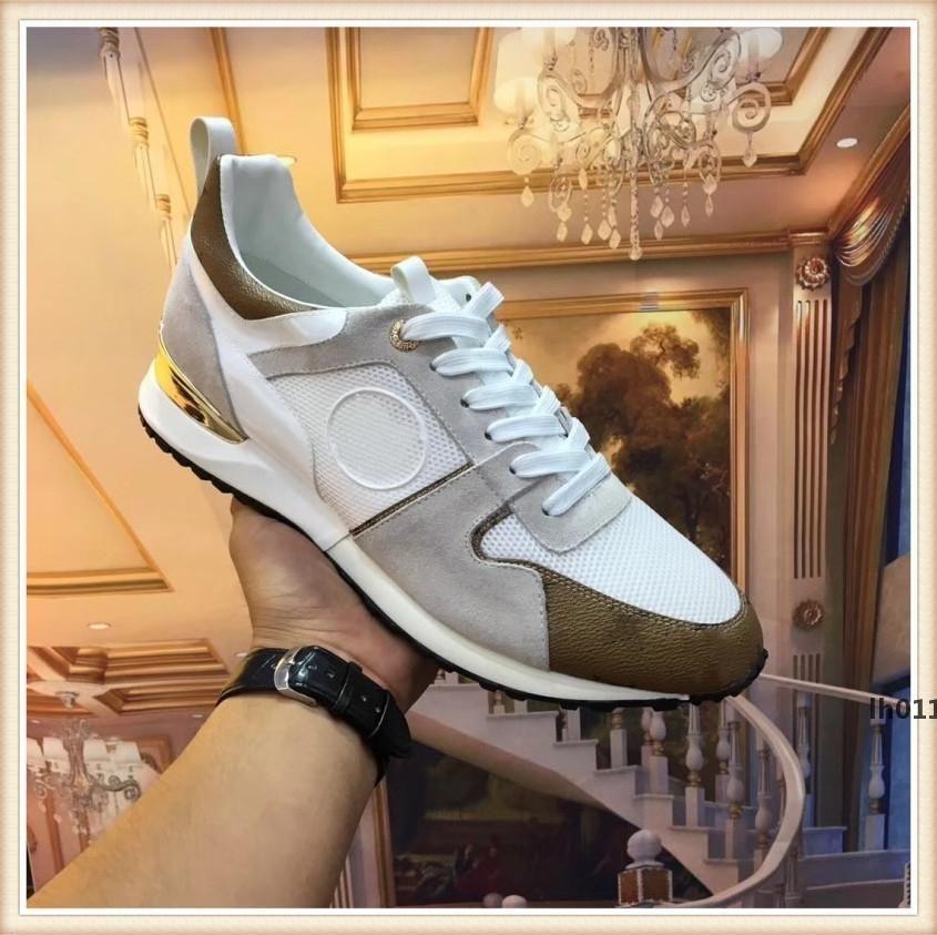 louis vuitton LV роскошь дизайнер 526 Спортивная обувь Мужчины Женщины Мода кроссовки Размер оригинала Sportschuhe Кроссовки мужские Женщина обувь Chaussures налить Hommes