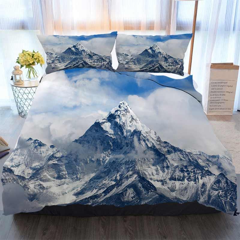 3D Designer Bedding Sets Ama Dablam Mount In The Nepal Himalaya Home Luxury Soft Duvet Comforter Cover