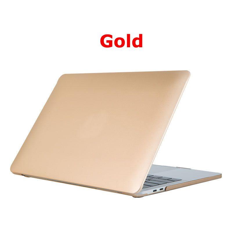 MacBook Pro Air Retina 12 13 15 인치 15.4 13.3inch 터치 바 쉘 커버 용 매트 노트북 케이스