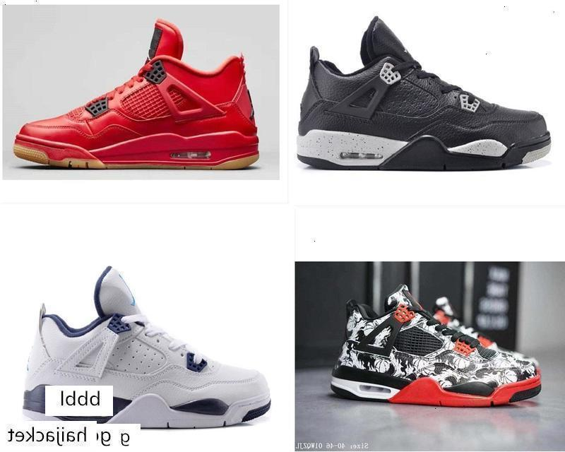 Mens AJ 4 Jumpman Basketball Shoes 4s