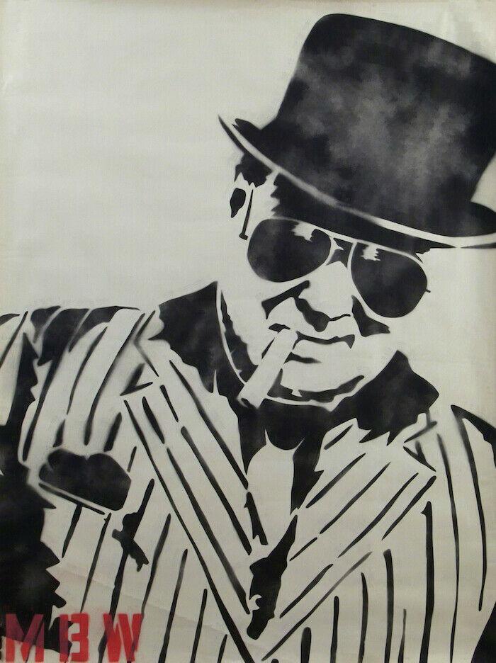 Г-н Brainwash Уинстон Черчилль Home Decor расписанная HD Печать картина масло на холст Wall Art Холст картинки 200809