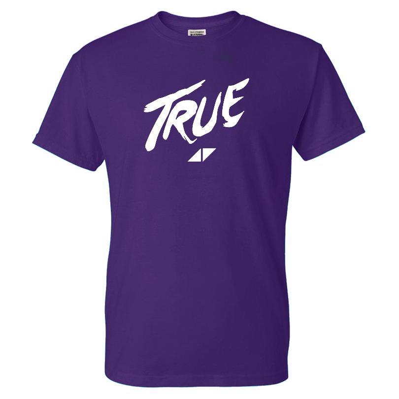 DJ Avicii футболка Мода Solid Color Letter Pattern печати Streetwear Мужчины Женщины хлопка высокого качества Tee рубашки Спорт вскользь Tops