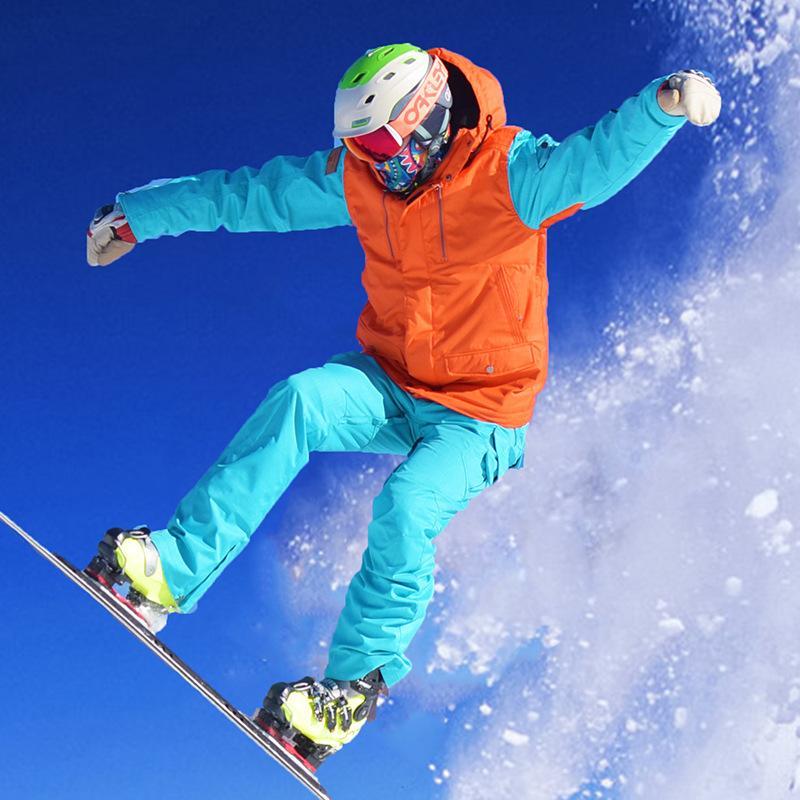 Hivernales style coréen Snowboard coupe-vent imperméable Les combinaisons de ski