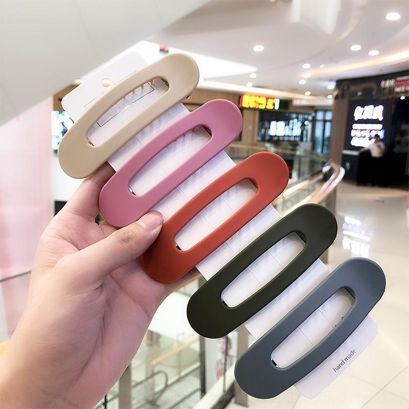 Fi4QL coreano dolce grandi colori di grandi dimensioni frangetta afferra caramelle Candy cappelli netti delle ragazze della forcella netto clip laterale di capelli della forcella della clip di celebrità in linea hea