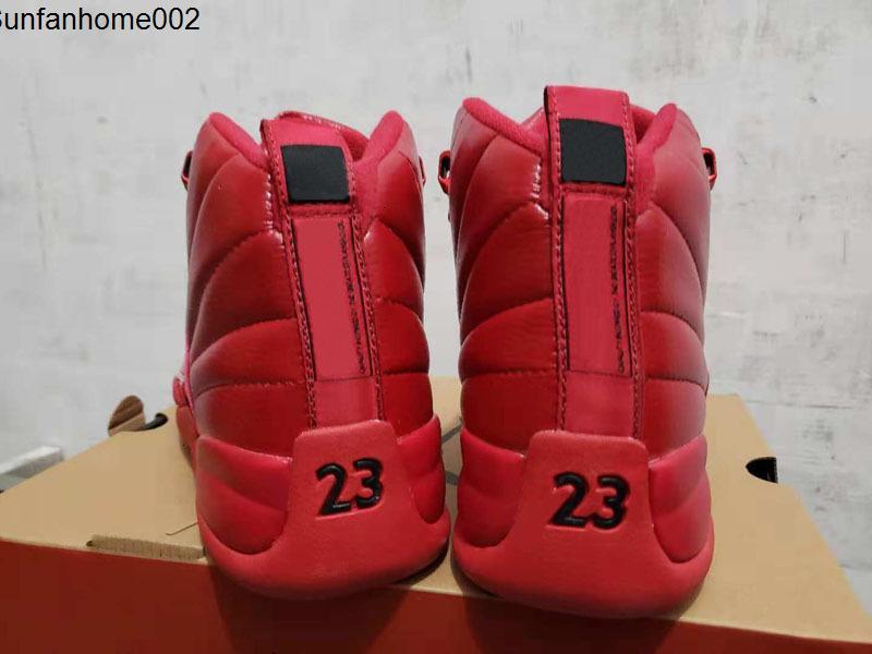 Erkek Basketbol Jumpman Çocuklar 12 Ayakkabı 2020 12s Yeni Michigan Wntr Gym Kırmızı Nyc Ovo Yün Xii Ayakkabı Spor Sneakers Eğitmenler