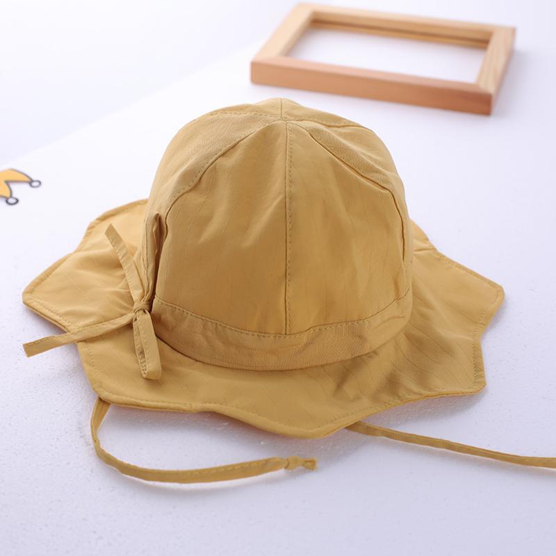 bébé pêcheur été chapeau fille mince printemps soleil solaire