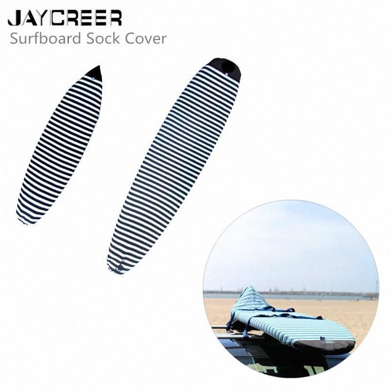 Jaycreer Surfboard Çorap Kapağı - Sörf tahtası için hafif koruyucu çanta [Boyutu ve rengi seçin] EE5D #
