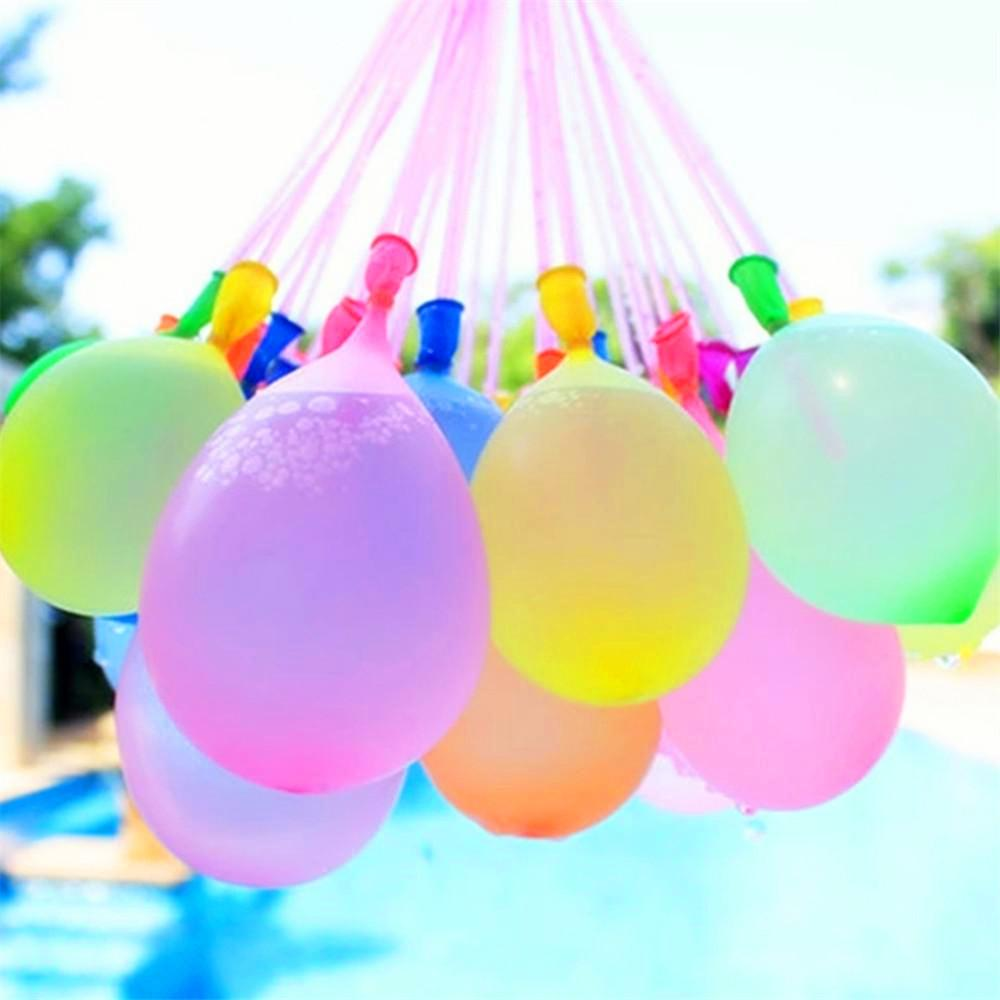 Colorful balloons Water Filled Balloon Toy For Fun Kid Adult Magic Water Sports Balloons sss Outdoor Garden Beach Swimming Pool Toy sbs