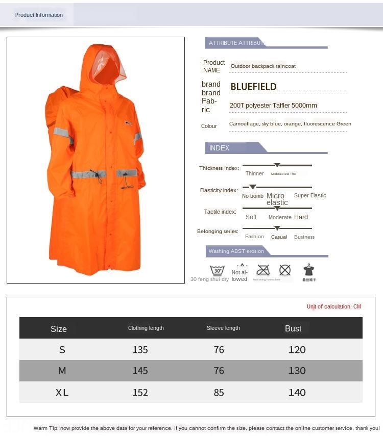 IUOWA NqDyl Yueyu jumpsuit sac à dos en plein air portable imperméable vêtements de corps Yueyu salopette à dos Merveilleuses randonnée en plein air BOD portable