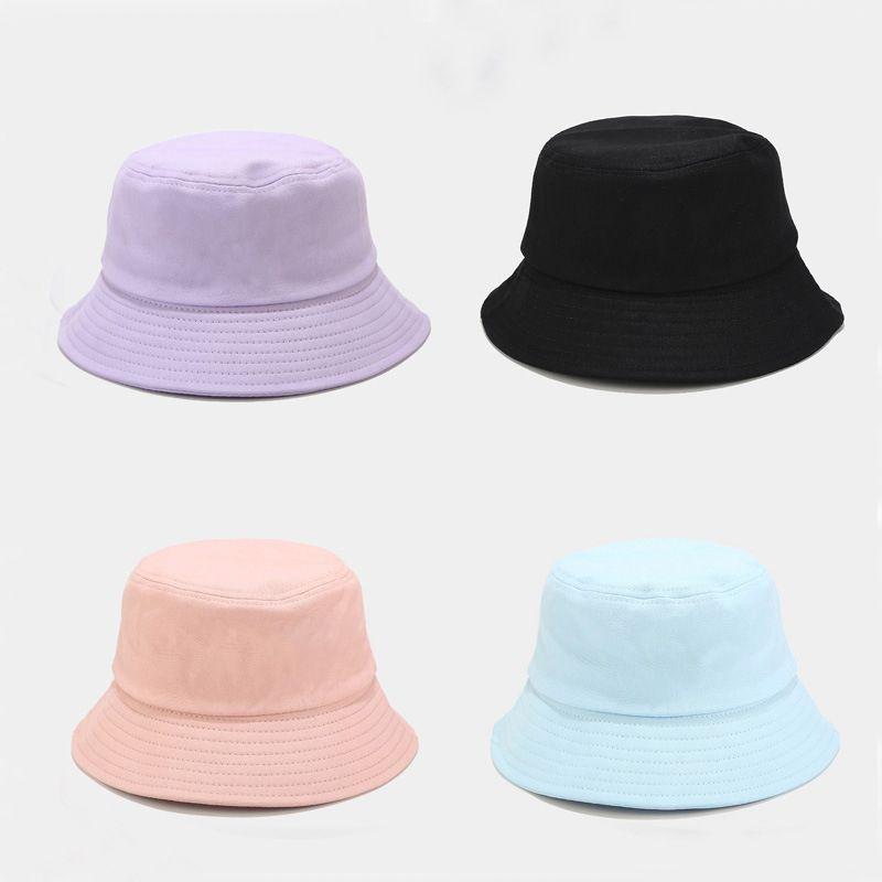 Unisex Estate pieghevole del cappello della benna delle donne all'aperto protezione solare cotone Pesca Caccia Cap Uomini Bob Chapeau cappelli di Sun T200826