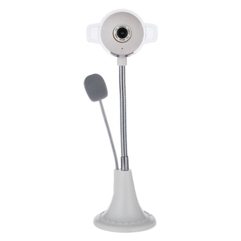 Компьютеры Фото-, Настольный ноутбук с микрофоном Встроенный Красочные Дыхательные Light USB Drive-Free HD Video Live Camera
