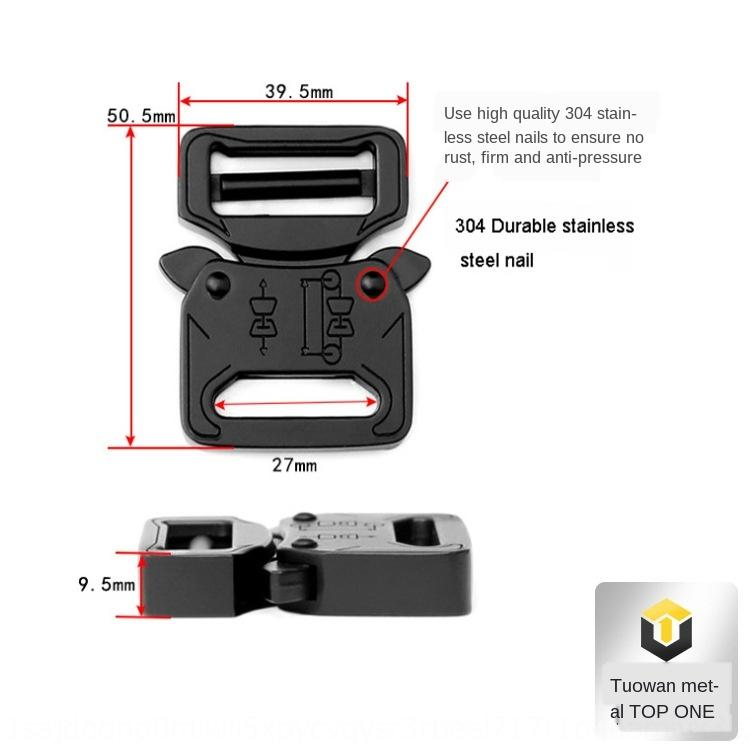 diâmetro interno de 25 mm de estilo funcional acessórios mochila cyberpunk estilo heavy metal rápido desbloqueio beltAccessories roupas roupas Unlock