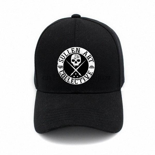 Sullen Sanat Baskı Şapka Caps Pamuk Şapka Ayarlanabilir Beyzbol şapkası Yaz Spor Cap E5rf #