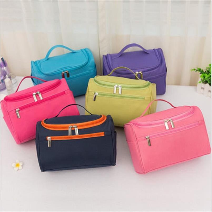 Sacchetti cosmetici multi stile portatile di bellezza di trucco caso cosmetico Box vanità Carry Bag dell'organizzatore di corsa sacchetto di trucco