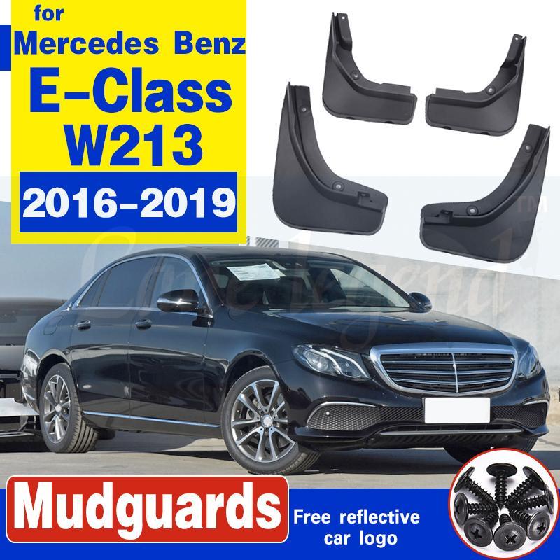 Voiture Bavette pour Mercedes Benz Classe E Classe E W213 2016 2017 2018 2019 Fender boue Garde Rabats Splash Flap Garde-boue Accessoires