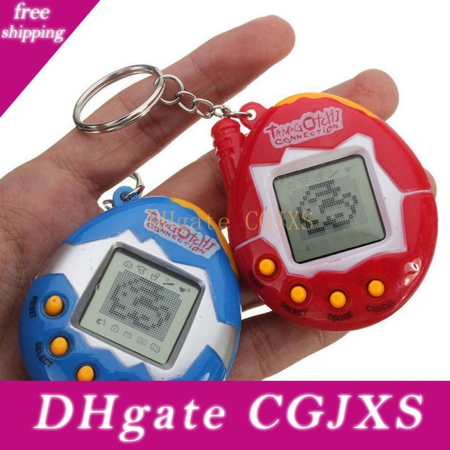 2019 Multi -Colors Tamagotchi Electronic Pets Toys 90s Nostalgic 49 Pets In 1 Virtual Cyber Pet Toy Funny Tamagochi Dropshipping