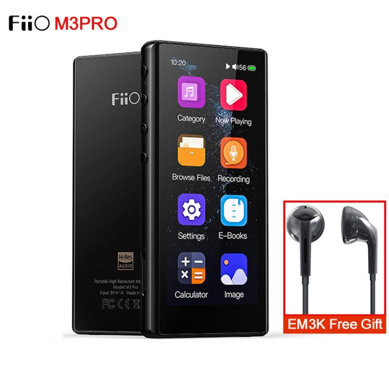 FiiO M3Pro Hi-Res MP3 Player ES9218P DAC 3.5inch Full Touchscreen HiFi Lossless Music Player Support Voice Recorder/