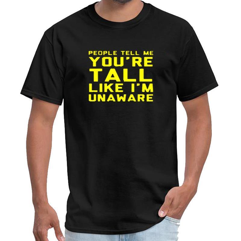 les gens me disent que vous êtes sur mesure tyler haut les femmes chemise créateur t vêtements d'été pour les hommes t-shirt XXXL 4XL 5XL normale