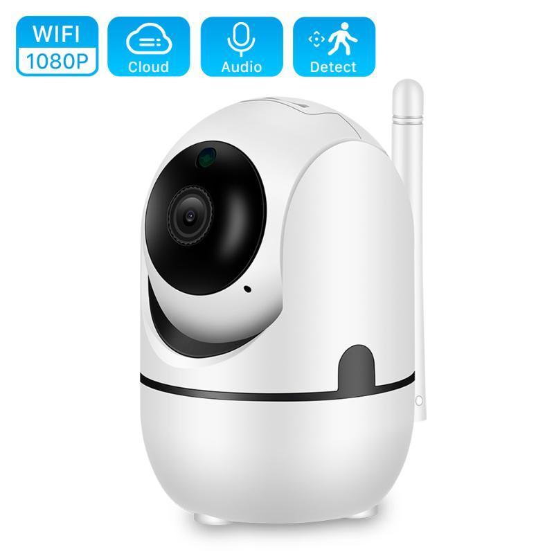 Облако 1080P PTZ IP камеры автоматического слежения 2MP домашней безопасности камеры видеонаблюдения сети Wi-Fi беспроводной IP-камера YCC365 Baby Monitor