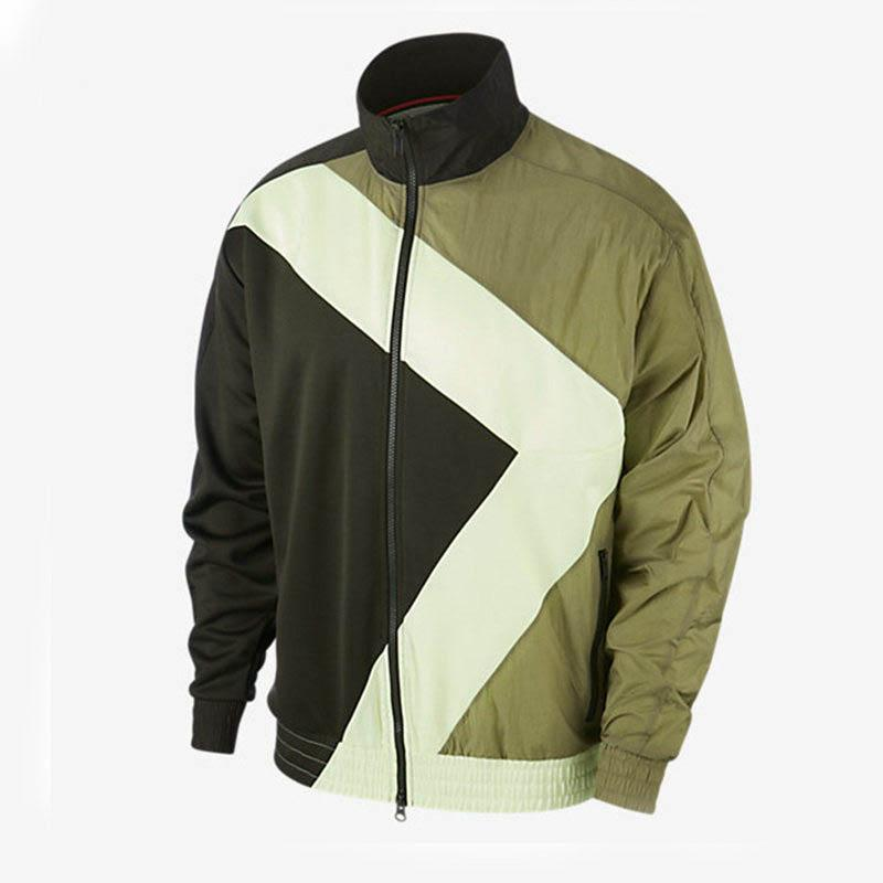 Vestes 2020 Automne nouveaux hommes coupe-vent hommes Veste de mode Imprimer Col stand Manteau Outdoor Sport Vestes Casual 2 couleurs Taille asiatique M-2XL