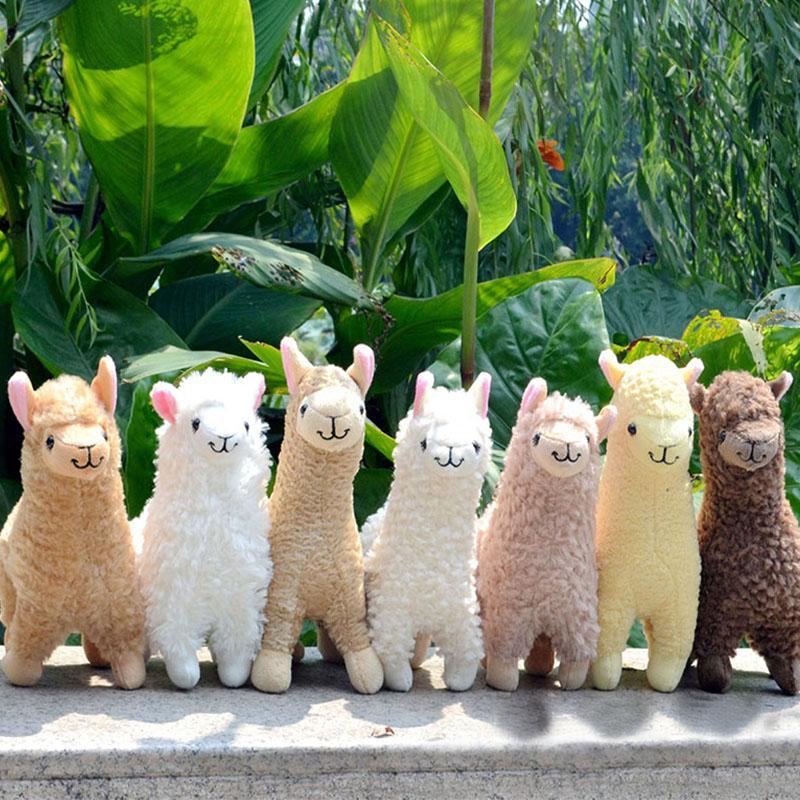 Christmas Gift Kawaii Alpaca Plush Toys 23cm Arpakasso Llama Stuffed Animal Dolls Japanese Plush Toy Children Kids Birthday Alpaca Plush Toy