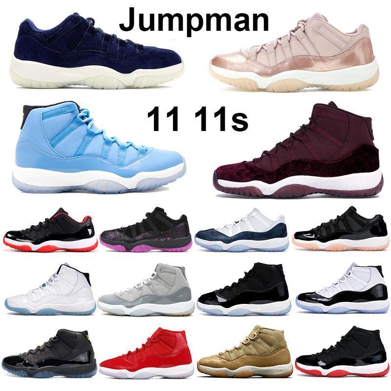 NUEVO 11s hombres mujeres zapatos de baloncesto de la periodal de la periodación de la periodal de la periodilla de la periodilla de la altura de la heredera Concord 45 BRED SPACE JAM HOMBRES DE Zapatillas deportivas