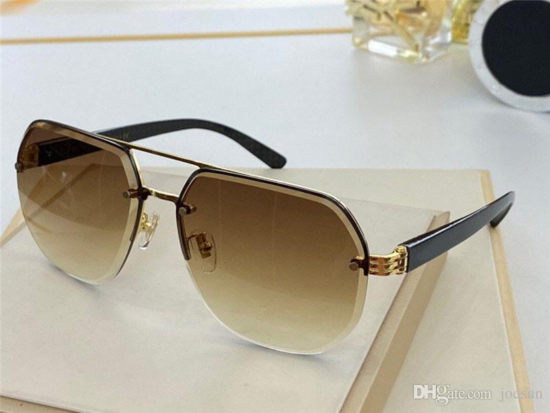 New Fashion Design Sunglasses 9039 pilota Metal Metal Frame Cut Lens Semplice stile popolare UV400 Protezione occhiali all'ingrosso di qualità superiore