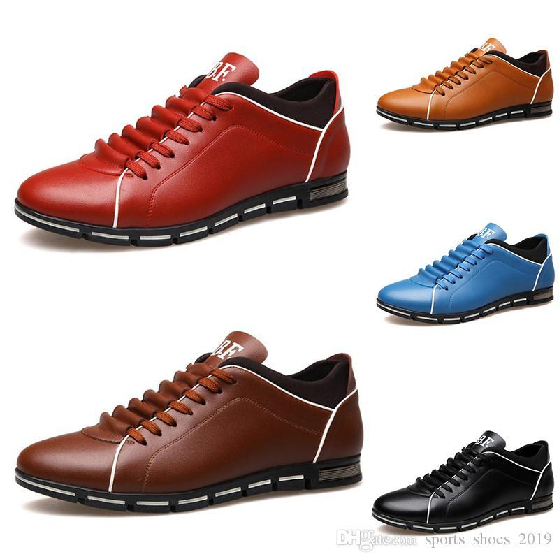 2020 оптовых мужчины обуви черное вино красны-коричневые модельеры вскользь Dropshipping свободного размера груза 39-44 стиля 1181
