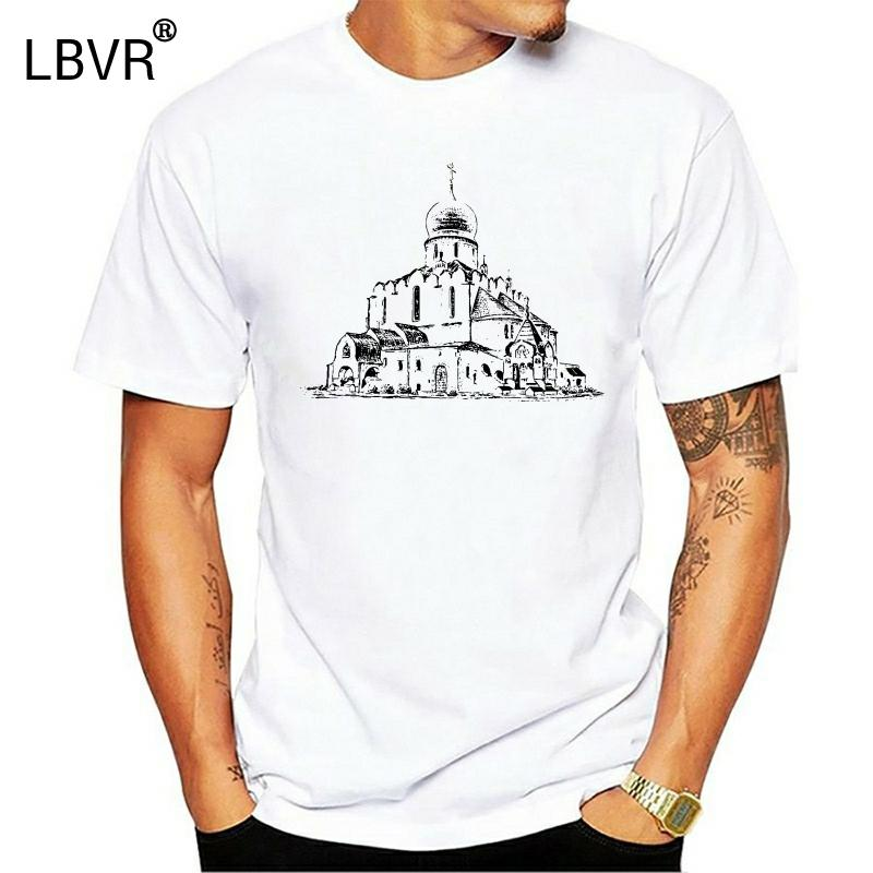 Православный собор Эскиз печати T-Shirt
