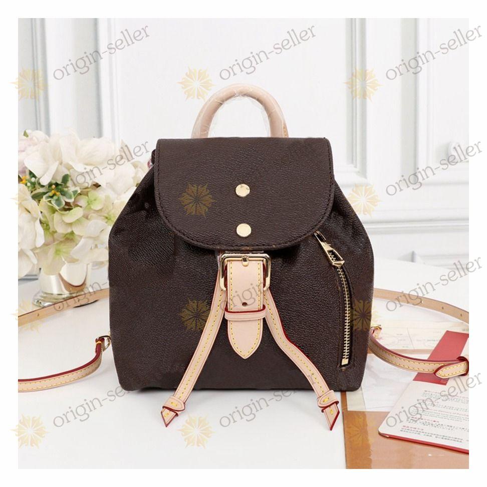 SPERONE BB N44026 Bolsas Backpack mochila  luxury backpack New Arrival Mulheres Mochila de couro de carneiro Backpack Mulheres Moda Hotsale escola para adolescentes