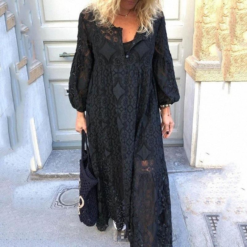 2020 2020 nuovo autunno Maglione lanterna vestito da donne in gravidanza Hollow maternità maniche ItBq #