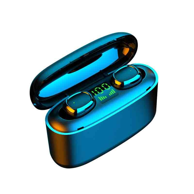 G5S الجديدة سماعة بلوتوث لاسلكية توس التكنولوجيا السوداء دعوة الأذنين اللاسلكية في الأذن